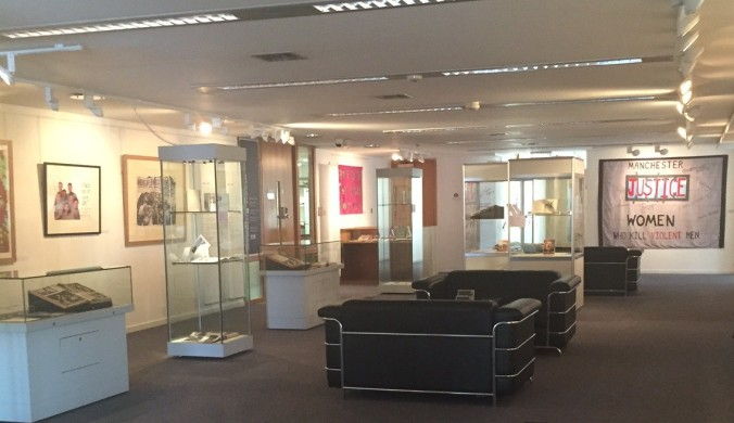 Installation shot of the exhibition 'Are we there yet? 150 years of progress towards equality'