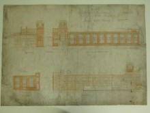 The drawing after conservation