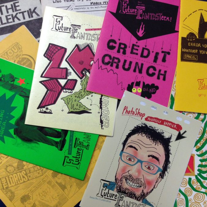 Zines at MMU Special Collections